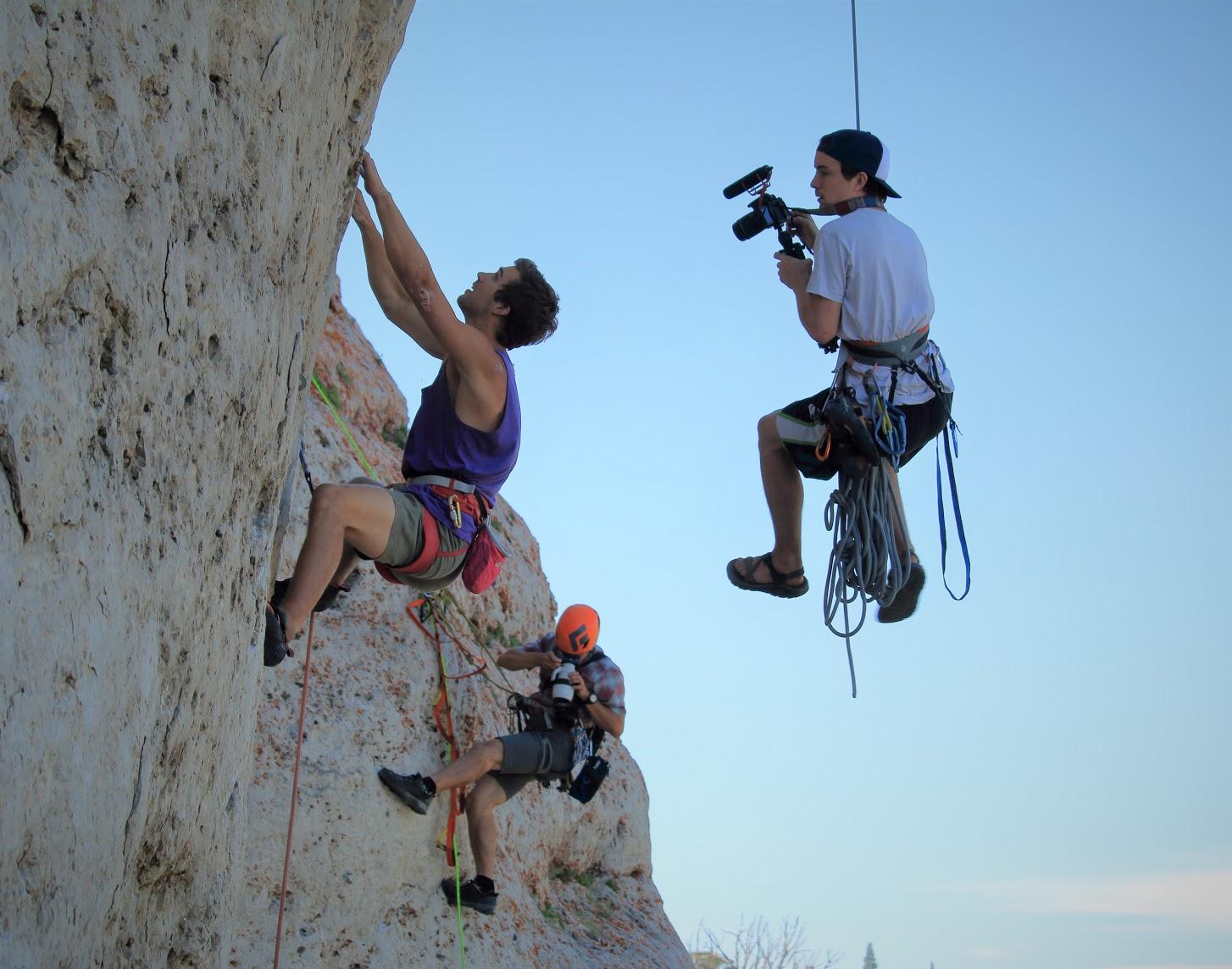 Outdoor Climbing Makes Climbing Extreme