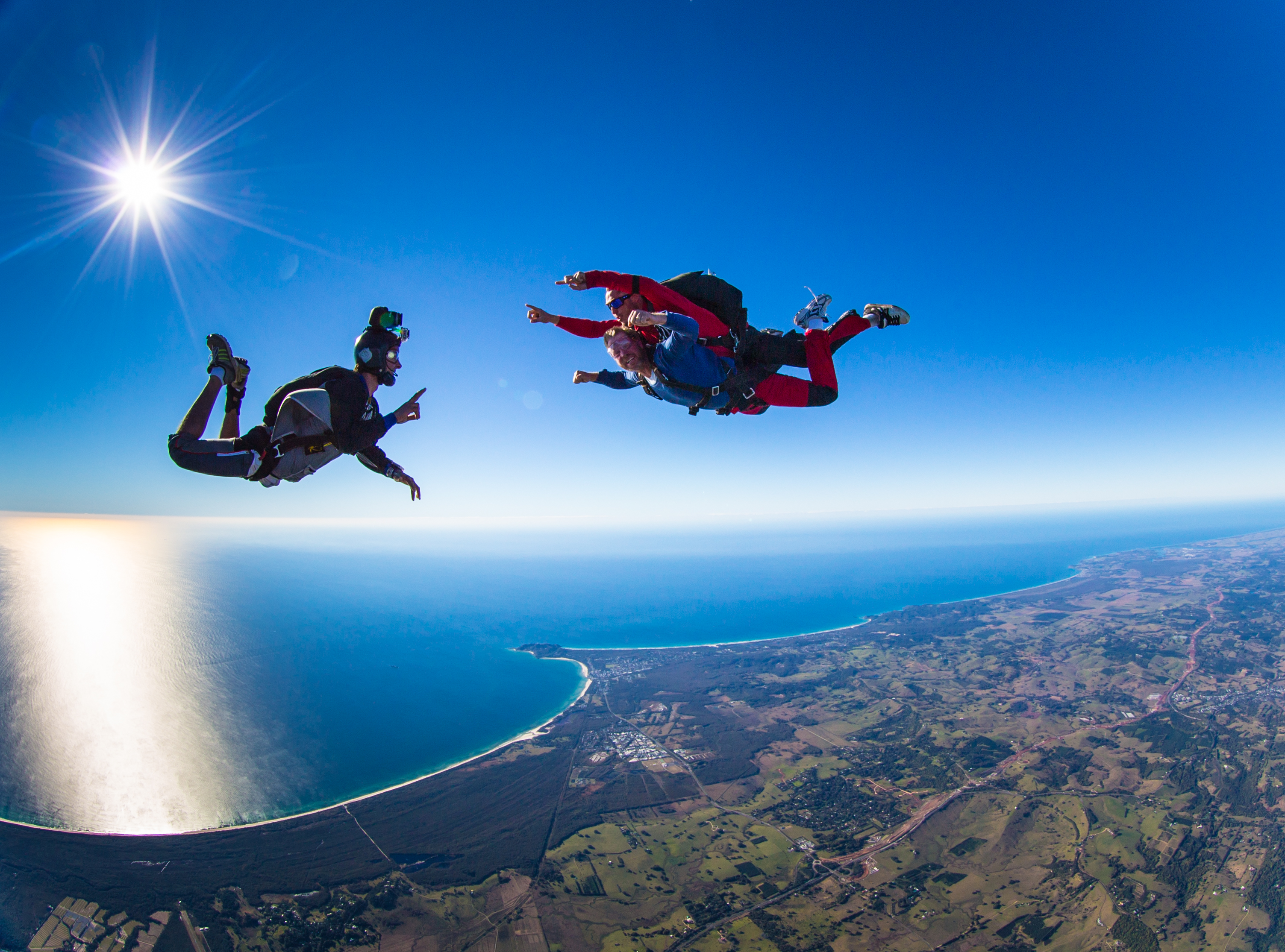 Practical Knowledge The Skydive Jersey Big Difference Tandem Skydiving